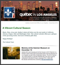 Bulletin culturel Los Angeles